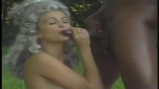 Slavers Wife Gets Big Black Cock Cum Shot to the face