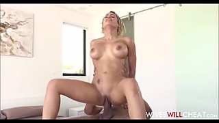 Sexy Thick Latina Wife Cheats On Husband With Black Masseuse With Huge Cock