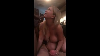 Slut Wife Takes On BBC
