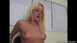 Blonde Slut Wife BBC Anal