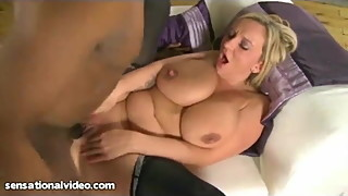 Big Tit British Wife Fucks Big Black Cock
