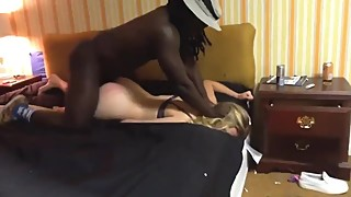 Blond wife smashed by big black cockk