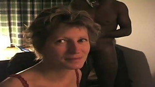 french wife take it analy and deep throating a black dude