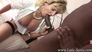 British Housewife BBC Creampie 3