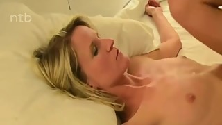 Beautiful Blonde Wife Enjoys her first BBC on vacation