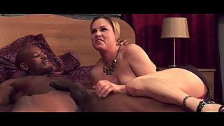 her pussy ruined in front of her hubby by a bbc