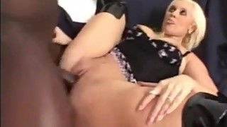 Blonde MILF Wife in Boots Fucked Like a Whore by BBC