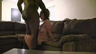 Cheating wife gets fucked deep balls by BBC