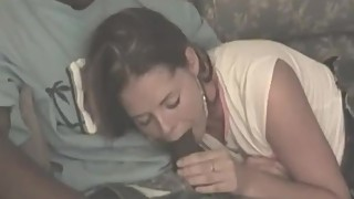 Brunette wife being bred