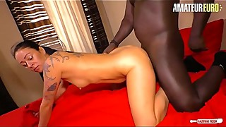 AMATEUR EURO - German Mareen De Luxe Cheat Husband With Neigbour'_s BBC