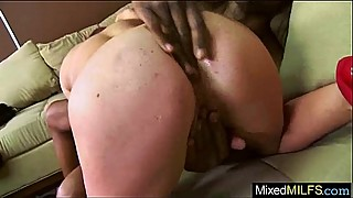 Mixt Sex Tape With Black Mamba Cock In Wet Holes Of Mature Lady (scarlett wild) video-29