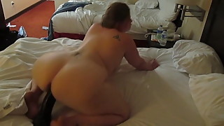 wife riding bbc dildo