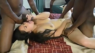 Interracial Thick Asian Swinger Wife