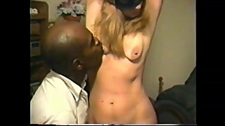 cuckold's wife bound to black fuck