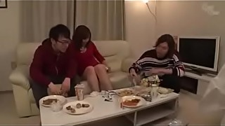 Japanese wife Ayu sakurai seduced friend beside her sleeping husband LINK FULL HERE: https://tinyurl.com/y2h66z8x