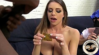 Brooklyn Chase interracial cuckold whore