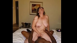 Sexy Mexican Wife Rides BBC Stud in front of Husband