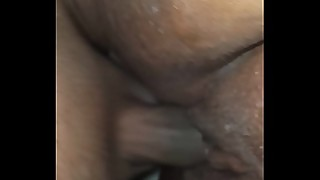 I WAS FUCKING THAT JUICY DRIPPING WET EBONY PUSSY