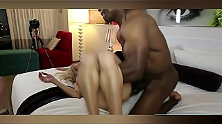 tattoo hotwife takes on bbc and limp dick white cuck