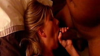 slut wife lisa uses toy sucks bbc while cuck bubby wanks