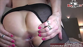 Hot german mature housewife anal with big cock bbc private