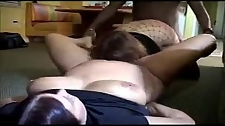 Amazing Threesome With Two Sexy Bbw Moms And Lucky Bbc  - more on sex-free.online