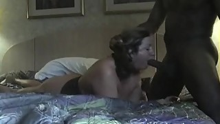 Submissive wife with her black lover 3