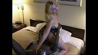Slut Wife Takes BBC While Loser Hubby Tapes it All