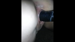 PAWG Wife POV with BBC Dildo