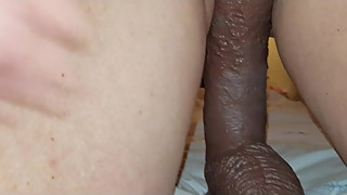 Big black cock from a box