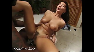 Latina Wife Fucked Anal by Big Black Cock