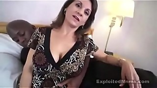 Amateur Busty Mom takes gets fuck by a Black cock in Hot Milf Pussy Video