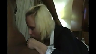 He Films His Wife Enjoying A Taste Of Black Cock !