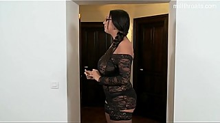 Housewife ass squirt